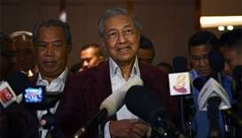 Mahathir claims election win over ruling coalition