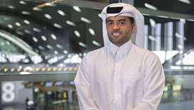 Hamad International Airport chief operating officer Badr Mohamed al-Meer