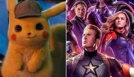 Detective Pikachu and Avengers: Endgame
