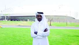 Al Wakrah Stadium Project Manager at Supreme Committee for Delivery and Legacy (SC) Engineer Thani a