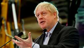 Boris Johnson says will stand as UK PM agrees to set exit date