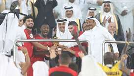 Amir honours winners with Cup