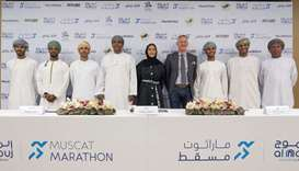 Oman's sporting legends join forces with the Al Mouj Muscat Marathon 2020 organisers to make the eve