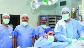 Medical Director of HMC's Hamad General Hospital and Head of Qatar Organ Transplant Centre Dr Yousuf