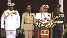 Lanka president vows to crush extremist threat