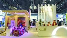 The Qatar pavilion at ITB China 2019 showcased a strong delegation of leading private sector partner