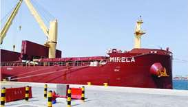 Ship arrives with 50,700 metric tonnes of barley