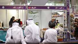 International Ramadan Market at DECC attracts a large crowd