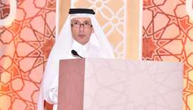 HE Akbar al-Baker at the Sixth Annual Tourism Industry Ghabga on Monday.