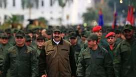 Maduro exhorts Venezuela military to fight 'any coup plotter'