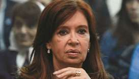Cristina Fernandez hits out at graft trial
