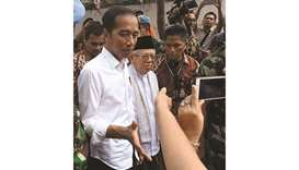 Widodo re-elected Indonesia president