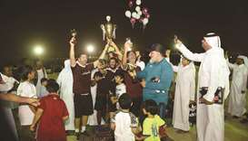 Mansoura Champions League brings cheer to another generation of community footballers