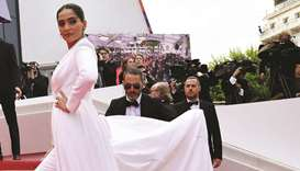 All dressed up but no film to show ... Bollywood 'needs new take' at Cannes