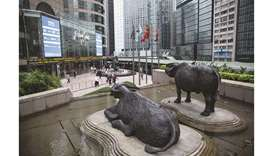 Sculptures of water buffaloes