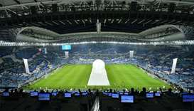 The Al Janoub Stadium in Al Wakrah, which was inaugurated on May 16, was the first World Cup venue t