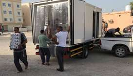 Baladna distributes 10,000 litres of long-life milk in Ramadan tents