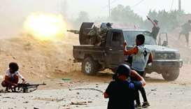 Heavy fighting rages in Libyan capital Tripoli