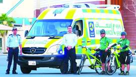 The new system gives drivers more time to move safely out of the way of the approaching ambulance