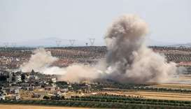 Fresh strikes on Syria militant enclave kill 15