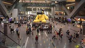 Hamad International Airport (HIA) and national carrier Qatar Airways have issued travel advisories t