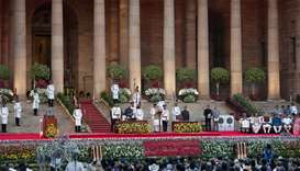 Modi takes oath as Indian premier for second term