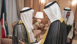 Kuwait Amir holds talks with PM
