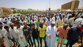 Unbowed Sudanese protesters vow to campaign during Ramadan