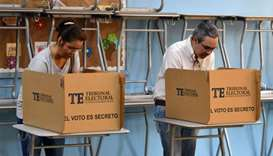 Panama votes for president; candidates vow to fight graft and inequality