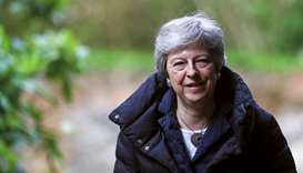 May quits as party chief, igniting race for top job