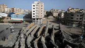 Gaza-Israel border falls quiet as ceasefire takes hold
