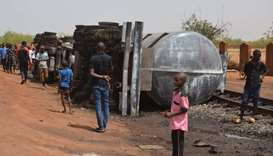 Toll from Niger tanker truck blast rises to 60
