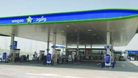 A view of Woqod's Wadi Aba Seleel Petrol Station which was opened on Wednesday