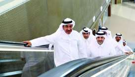 HE the Minister of Transport and Communications Jassim Seif Ahmed al-Sulaiti, HE the Minister of Mun