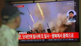 North Korea fires two short-range missiles in second test in a week