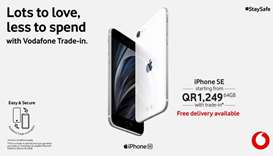 Vodafone launches new iPhone SE with trade-in offer