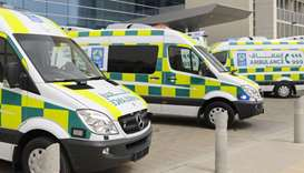 HMC ambulance service plays vital role in protecting society from virus