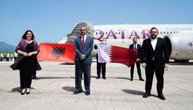 Qatar medical aid arrives in Albania