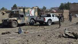Suicide bombing in Afghanistan leaves seven dead and dozens wounded