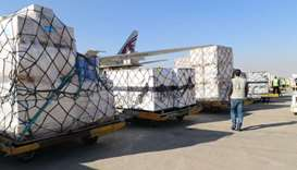 Qatar Airways Cargo delivers medical supplies to Iran