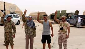 Libyan govt forces capture key air base