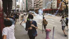 Thousands protest in HK over security law proposal