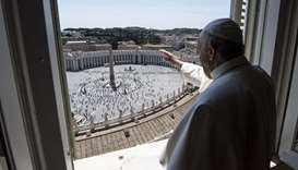 As people return to St Peter's Square, Pope urges defence of environment
