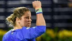 Four-time Grand Slam winner Kim Clijsters.