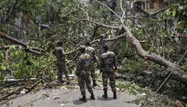 Army deploys to clean up cyclone-ravaged Kolkata