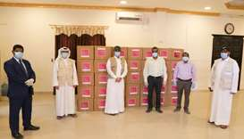 Qatar distributes 50,000 food kits to community members to celebrate Eid al-Fitr