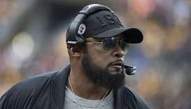 Pittsburgh Steelers head coach Mike Tomlin. (TNS)