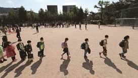 Students South Korea.