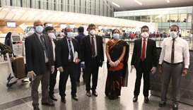 Repatriation of first group of Sri Lankans from Qatar