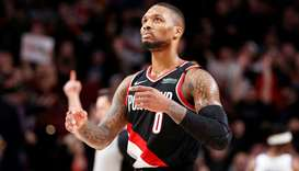 Portland Trail Blazers guard Damian Lillard. PICTURE: USA TODAY Sports
